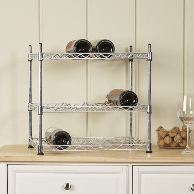 Wayfair Basics Wayfair Basics 12 Bottle Tabletop Wine Rack