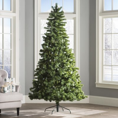 wayfair basics 75 green fir artificial christmas tree reviews wayfair - 75 White Christmas Tree