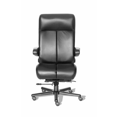 ERA Products Office Chairs Comfort Series Premier Leather/Leathermate High-Back Executive Chair