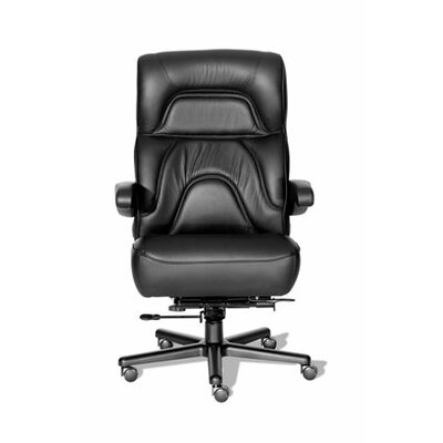 ERA Products Office Chairs Comfort Plus  Series Chairman Leather High-Back Executive Chair
