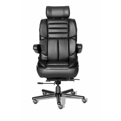 ERA Products Office Chairs Comfort Series Galaxy Leathermate Vinyl High-Back Executive Chair