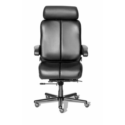 ERA Products Office Chairs Comfort Series Marathon Leather/Leathermate Vinyl High-Back Executive Chair