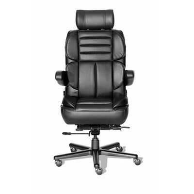 ERA Products Office Chairs Comfort Plus  Series Pacifica Leather/Leathermate Vinyl High-Back Executive Chair