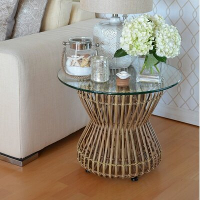 Kouboo Ocho Rattan End Table