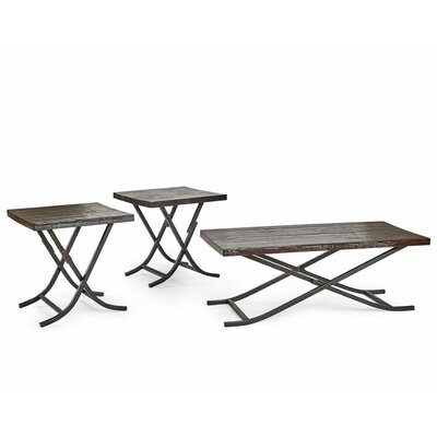 Crawford & Burke The Hemsworth Living Room 3 Piece Table Set