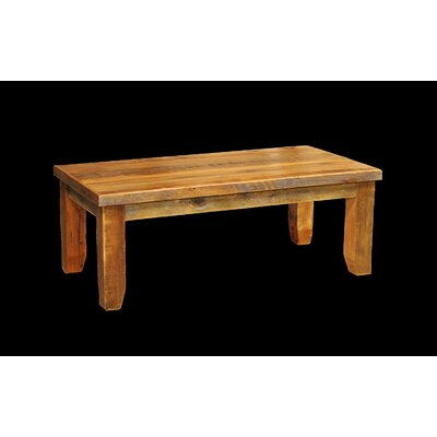 Utah Mountain Barnwood Coffee Table wi..