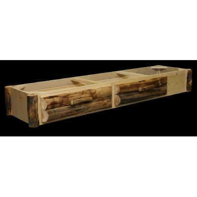 Utah Mountain Aspen 2 Drawer Underbed Unit