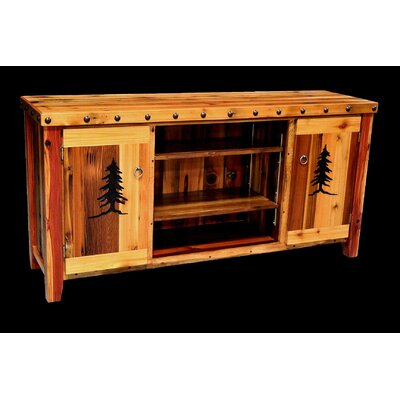 Utah Mountain Barnwood 2 Door Console Table