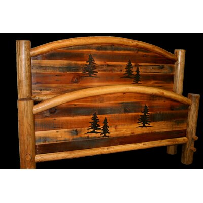 Utah Mountain Barnwood Bed Frame