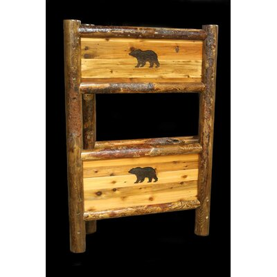 Utah Mountain Barnwood Bunk Bed Image
