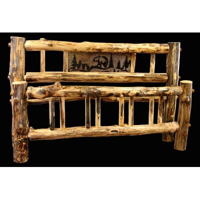 Utah Mountain Aspen Bed Frame