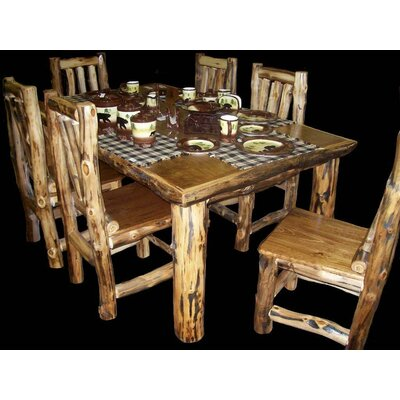 Utah Mountain Aspen 7 Piece Dining Set