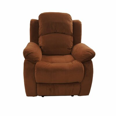Madison Home USA Traditional Brush Microfiber Recliner