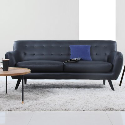 Madison Home USA Mid Century Modern Tufted Sofa