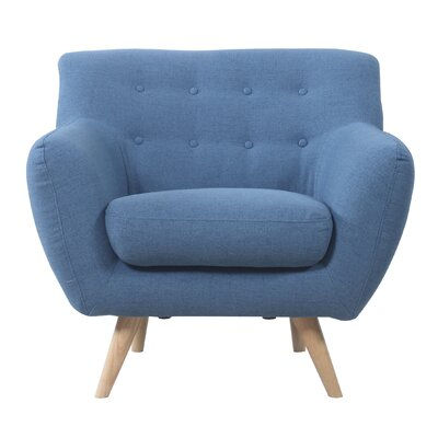 Madison Home USA Mid-Century Modern Tufted Fabri..