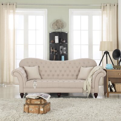 Madison Home USA Classic Tufted Victorian Sofa