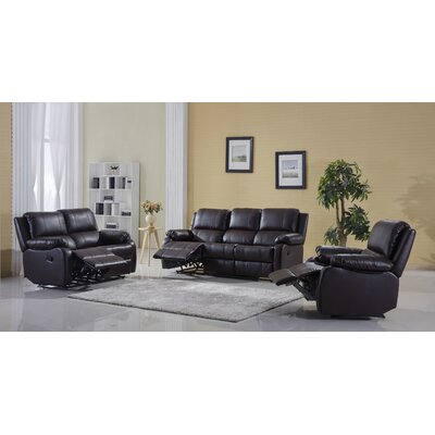 Madison Home USA REC11 PU 3S  Classic Living Room Collection