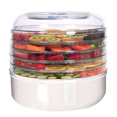 ronco 5 tray electric food dehydrator reviews wayfair. Black Bedroom Furniture Sets. Home Design Ideas