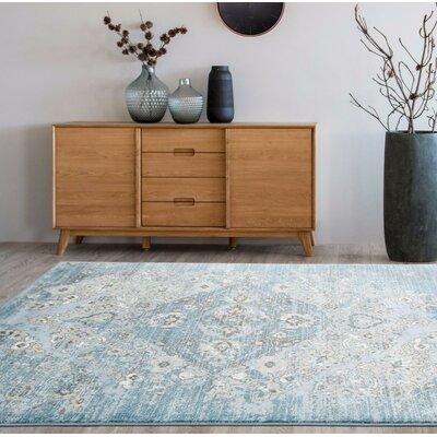 Persian Rugs Tobis Blue Indoor/Outdoor Area Rug U0026 Reviews | Wayfair