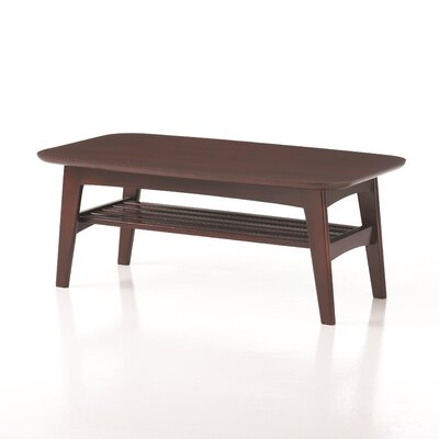 Studio Q Furniture Brodie Coffee Table with Magazine Rack