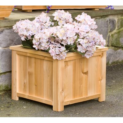 Dmc usa cedar square planter box wayfair for Wayfair garden box