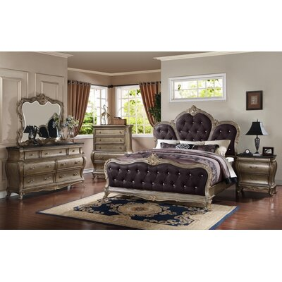 Meridian Furniture USA Roma Panel Customizable B..