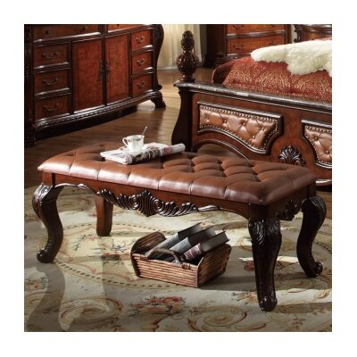 Meridian Furniture USA Luxor Bedroom Bench