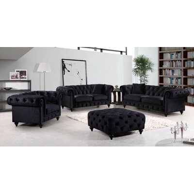 Meridian Furniture USA Chesterfield Living Room Collection