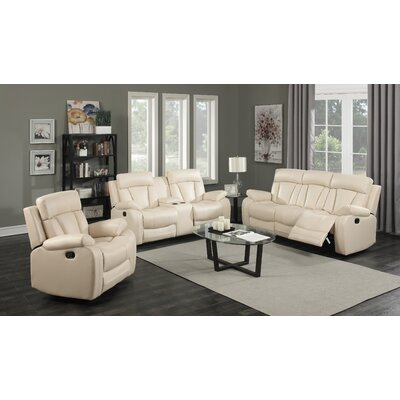Meridian Furniture USA Avery Leather Reclining L..