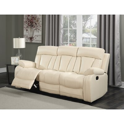 Meridian Furniture USA Avery Leather Reclining Sofa