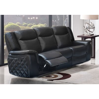 Meridian Furniture USA Carly Leather Reclining ..