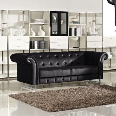 Meridian Furniture USA Porta Velvet Sofa