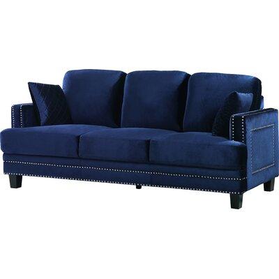 Meridian Furniture USA Ferrara Nailhead Sofa