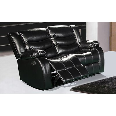 Meridian Furniture USA Reclining Loveseat