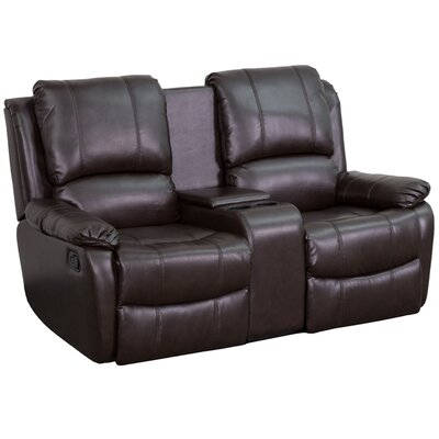 Darby Home Co Sackville 2 Seat Home Theater Recliner