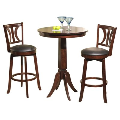 Darby Home Co Loami 3 Piece Pub Table Set