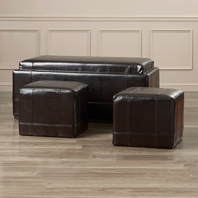 Darby Home Co Elkhart Ottoman (Set of 3)