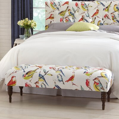 Darby Home Co Selma Tufted Birdwatcher Be..