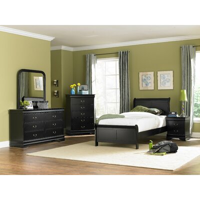 Darby Home Co Bader Sleigh Customizable Bedroom Set