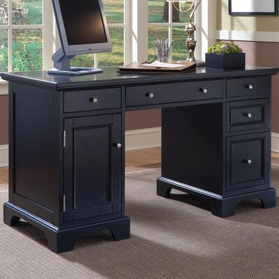 Home Styles Bedford Double Pedestal Compu..