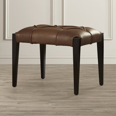 Darby Home Co Leather Ottoman