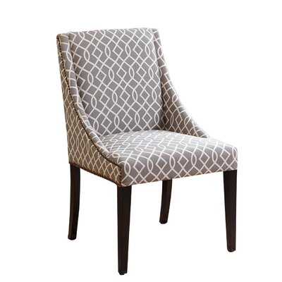 Darby Home Co Eagan Swoop Parsons Chair