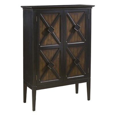 Darby Home Co Floor Wine Cabinet