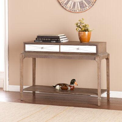 Darby Home Co Arnault Console Table and M..