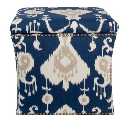 Darby Home Co Crossville Nail Button Storage Ottoman