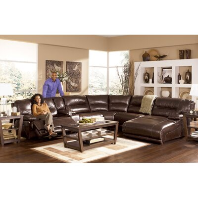 Darby Home Co  DRBC2103 Tankersley Reclining Sectional