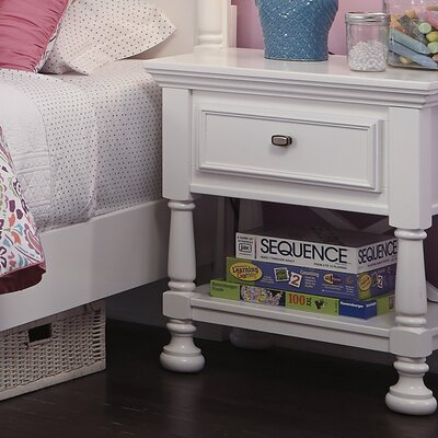 Darby Home Co Jeffersonville 1 Drawer Nightstand