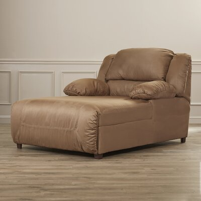 Darby Home Co Jimenes Microfiber Chaise Recliner