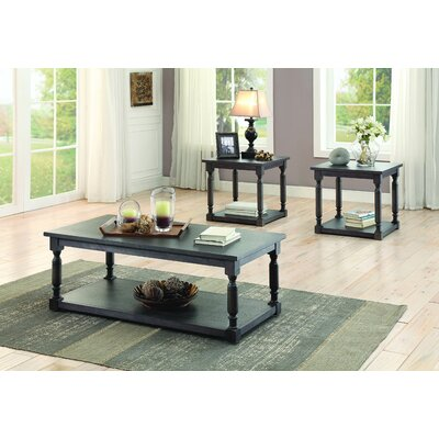 Darby Home Co Bloomingdale 3 Piece Coffee Table Set