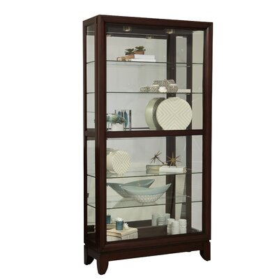 Darby Home Co Curio Cabinet
